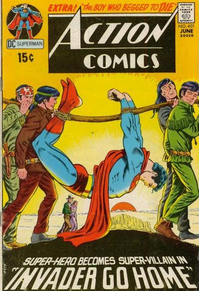 Cover for Action Comics (DC, 1938 series) #401