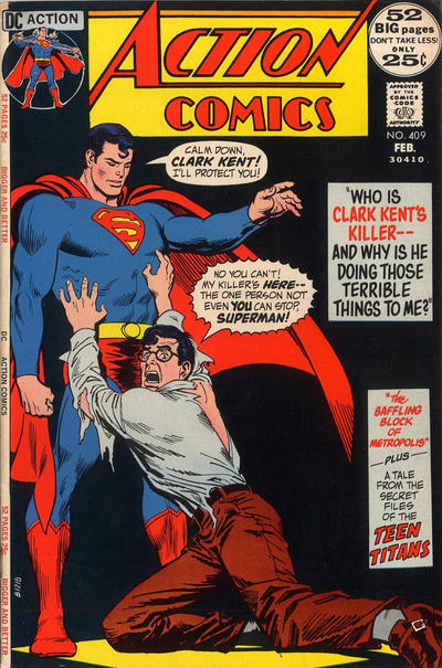Cover for Action Comics (DC, 1938 series) #409