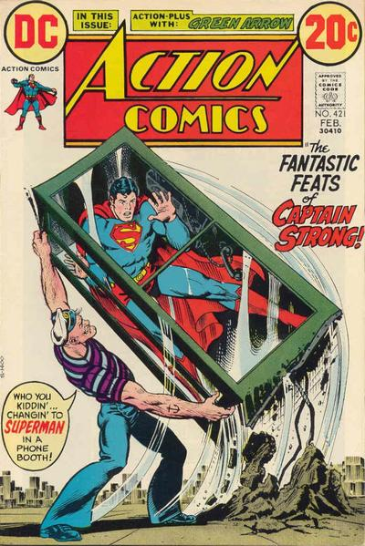 Cover for Action Comics (1938 series) #421