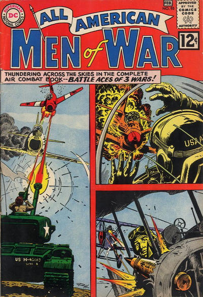 Cover for All-American Men of War (DC, 1953 series) #95