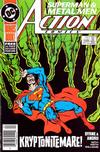 Cover Thumbnail for Action Comics (1938 series) #599 [Newsstand]