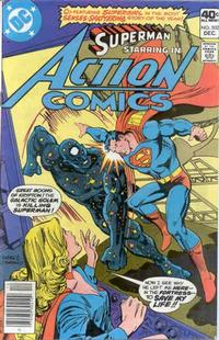 Cover Thumbnail for Action Comics (DC, 1938 series) #502