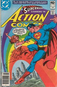 Cover Thumbnail for Action Comics (DC, 1938 series) #503