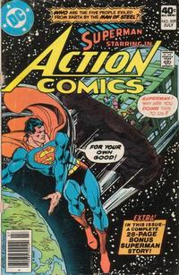 Cover Thumbnail for Action Comics (DC, 1938 series) #509