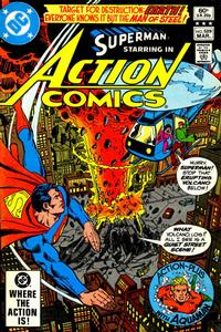 Cover Thumbnail for Action Comics (DC, 1938 series) #529 [Direct]