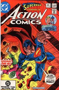 Cover Thumbnail for Action Comics (DC, 1938 series) #530 [Direct]