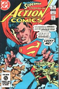 Cover Thumbnail for Action Comics (DC, 1938 series) #549