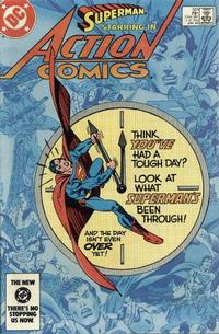 Cover for Action Comics (DC, 1938 series) #551 [Direct-Sales]