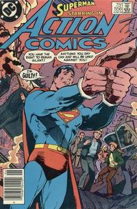 Cover Thumbnail for Action Comics (DC, 1938 series) #556