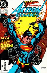 Cover Thumbnail for Action Comics (DC, 1938 series) #580 [Direct Edition]