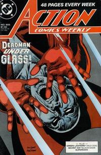 Cover Thumbnail for Action Comics Weekly (DC, 1988 series) #605