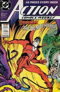 Cover Thumbnail for Action Comics Weekly (DC, 1988 series) #610