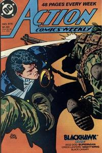 Cover Thumbnail for Action Comics Weekly (DC, 1988 series) #616