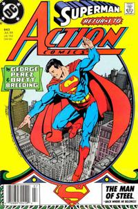 Cover Thumbnail for Action Comics (DC, 1938 series) #643