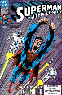 Cover Thumbnail for Action Comics (DC, 1938 series) #672 [Direct]