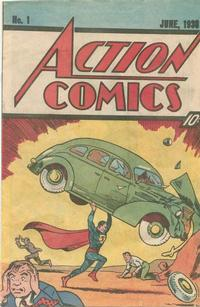 Cover Thumbnail for Action Comics [Nestle Quick 10¢ Cover] (DC, 1983 series) #1