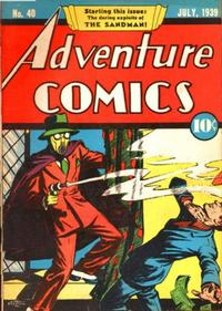 Cover Thumbnail for Adventure Comics (DC, 1938 series) #40