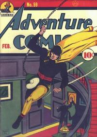 Cover Thumbnail for Adventure Comics (DC, 1938 series) #59
