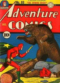Cover Thumbnail for Adventure Comics (DC, 1938 series) #69