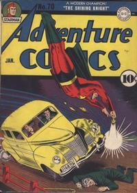 Cover Thumbnail for Adventure Comics (DC, 1938 series) #70