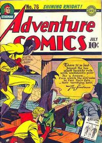 Cover Thumbnail for Adventure Comics (DC, 1938 series) #76