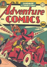 Cover Thumbnail for Adventure Comics (DC, 1938 series) #80