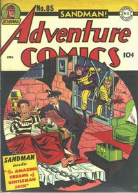 Cover Thumbnail for Adventure Comics (DC, 1938 series) #85
