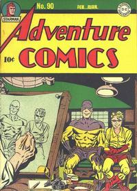 Cover Thumbnail for Adventure Comics (DC, 1938 series) #90
