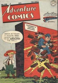 Cover for Adventure Comics (DC, 1938 series) #110