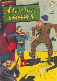 Cover Thumbnail for Adventure Comics (DC, 1938 series) #117