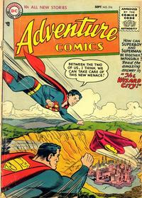 Cover Thumbnail for Adventure Comics (DC, 1938 series) #216