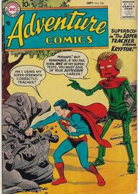 Cover Thumbnail for Adventure Comics (DC, 1938 series) #240