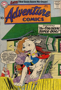 Cover Thumbnail for Adventure Comics (DC, 1938 series) #262