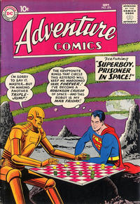 Cover Thumbnail for Adventure Comics (DC, 1938 series) #276