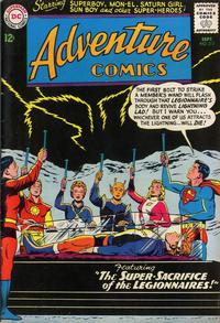 Cover for Adventure Comics (1938 series) #312