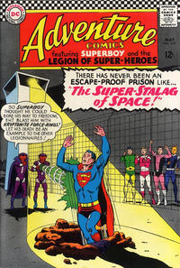 Cover Thumbnail for Adventure Comics (DC, 1938 series) #344