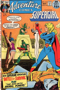 Cover for Adventure Comics (DC, 1938 series) #412