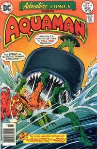 Cover Thumbnail for Adventure Comics (DC, 1938 series) #449