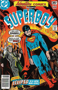 Cover for Adventure Comics (DC, 1938 series) #457