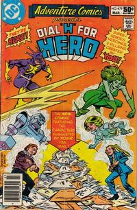 Cover Thumbnail for Adventure Comics (DC, 1938 series) #479