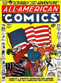 Cover Thumbnail for All-American Comics (DC, 1939 series) #4