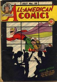 Cover Thumbnail for All-American Comics (DC, 1939 series) #59
