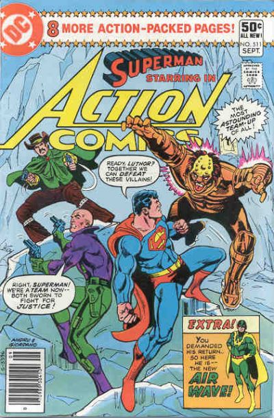 Cover for Action Comics (1938 series) #511