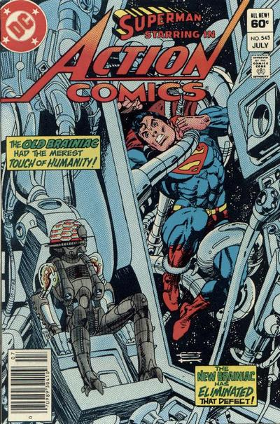 Cover for Action Comics (DC, 1938 series) #545 [Direct Edition]