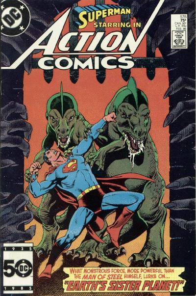 Cover for Action Comics (1938 series) #576