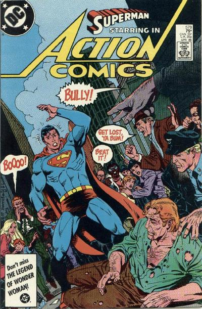 Cover for Action Comics (DC, 1938 series) #578