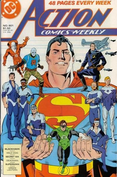 Cover for Action Comics Weekly (1988 series) #601