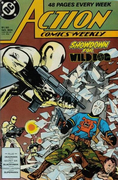 Cover for Action Comics Weekly (DC, 1988 series) #604