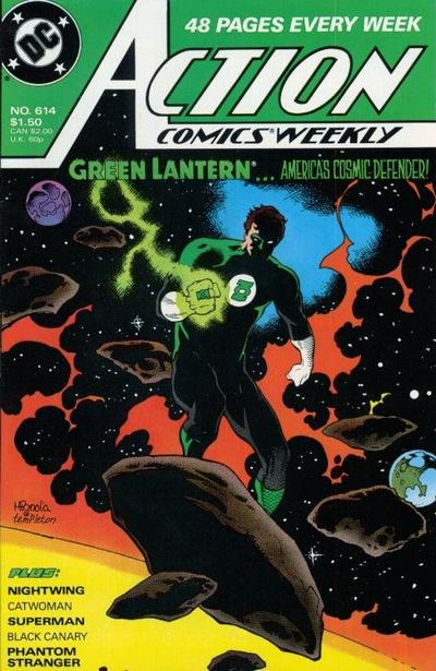 Cover for Action Comics Weekly (DC, 1988 series) #614