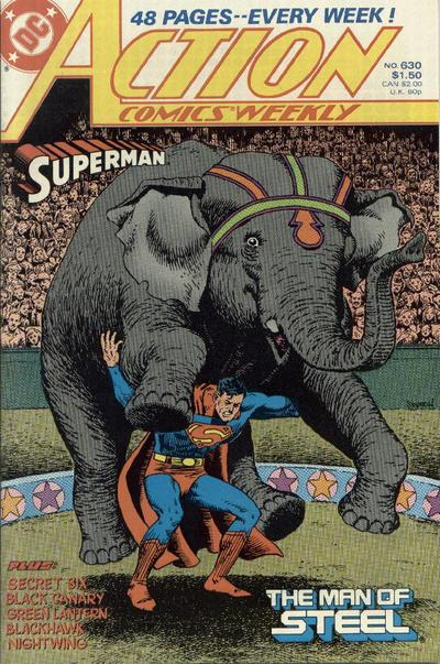 Cover for Action Comics Weekly (DC, 1988 series) #630